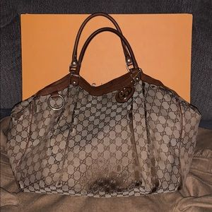 🎀GUCCI XTRA LARGE SUKEY BAG🎀